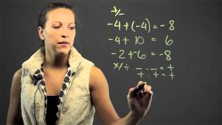 How to Teach Seventh Graders Integers : Math Lessons & Tips