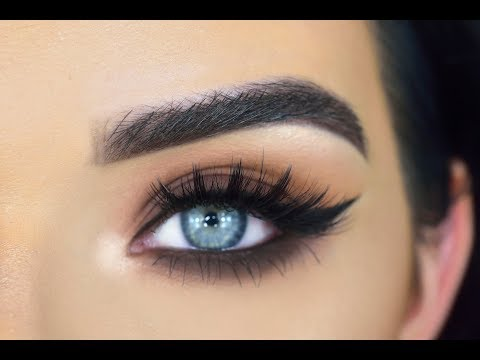 EASY Brown Smokey Everyday Eye Makeup Tutorial | Safari Palette