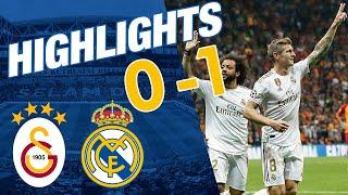 HIGHLIGHTS | Galatasaray 0-1 Real Madrid