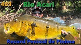Muita emoção e adrenalina com um gigante no Acari - Fishingtur na tv 489