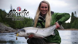 TWO SALMON IN TWO CASTS - Gaula River | Salmon Fishing