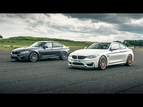 BMW M3 Comp Pack vs BMW M4 GTS | Drag Races | Top Gear