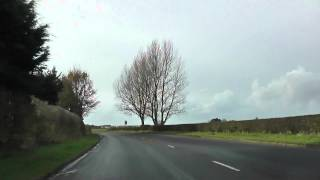 preview picture of video 'Driving Along Turnpike Road, Formby Lane, Birch's Brow & Broad Lane, Ormskirk, Lancashire, UK'
