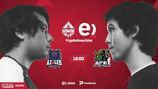 Azules Esports VS Ace1 | Jornada 14 | Liga de Honor Entel