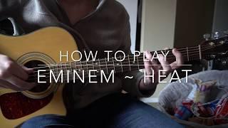 Heat // Eminem // Easy Guitar Lesson