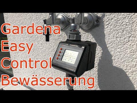 Bewässerungs Timer mit automatischem Wasser-Stopp Rasen Sprenger Automatik Timer