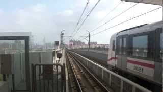 preview picture of video 'Shanghai Metro Line 6 - Pudong Light Railway (上海地铁 6号线)'