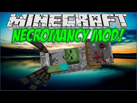 Minecraft Mods: Necromancy Mod 1.4.5 - Create Your Own Minions!