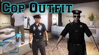 Modded Cop Outfit Glitch in GTA 5 Online Ps3/Xbox360