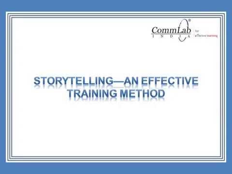 Storytelling - An Effective Training Method! - YouTube