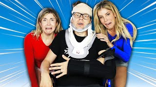 MATT FELL DOWN The STAIRS - Emergency Room Trip Gets Emotional