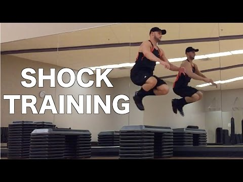 Vertical Jump Plyometric Shock Training - Drop Jumps and Depth Jumps