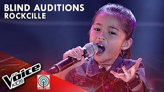 Banal Na Aso, Santong Kabayo by Rockcille Baliton | The Voice Kids Philippines Blind Auditions 2019