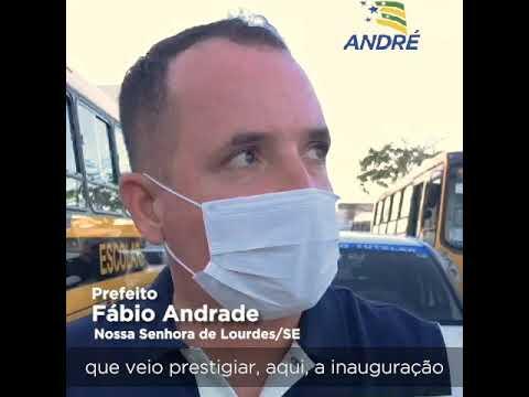 AGRADECIMENTO DO PREFEITO FÁBIO ANDRADE