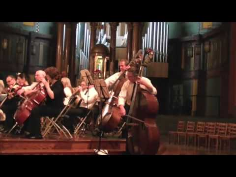 Please use headphones - Bach Cello Suite #3 - Orchestral playing also