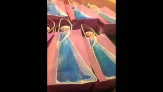 Diy Frozen Party Favor Bags..budget Friendly