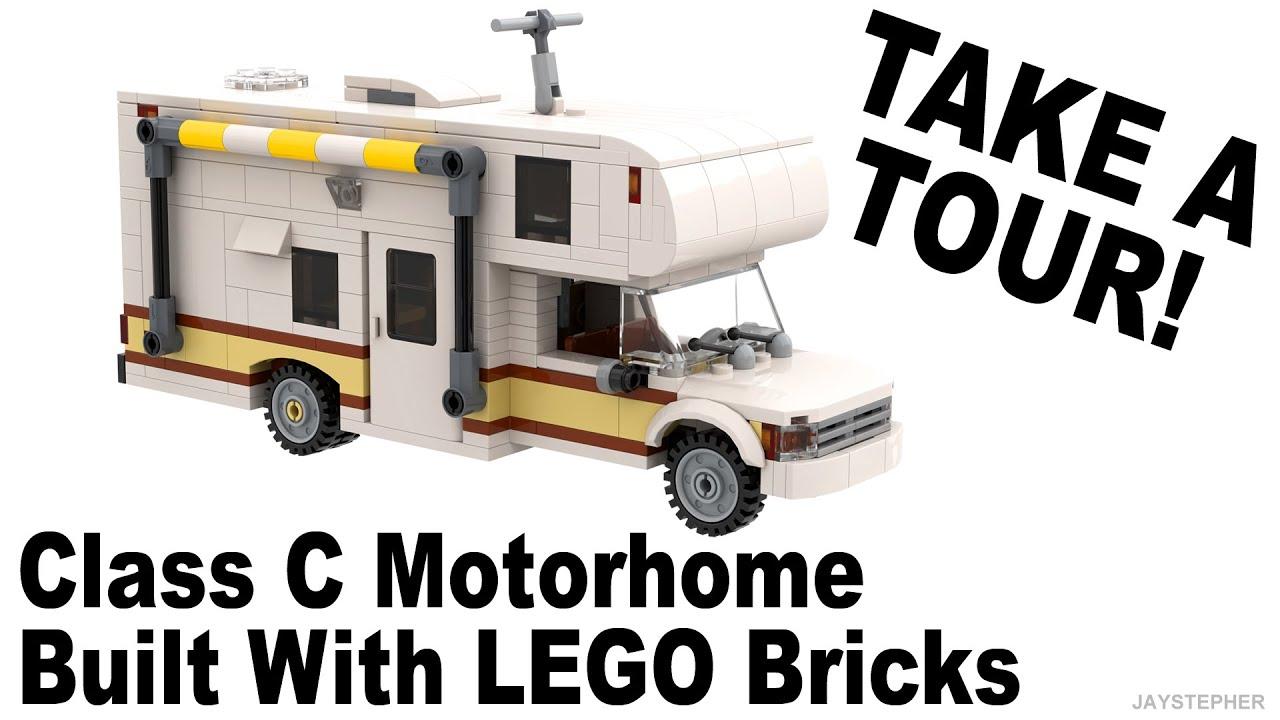 Class C LEGO Motorhome Custom Built MOC Tour