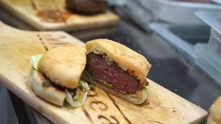Cuocere  hamburger con Wegrill