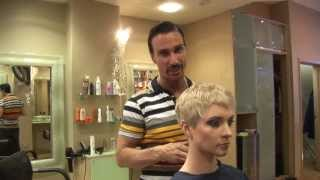 Pixie Style Cut ✂ Crop Haircut ✂ Short Hairstyles For Women, Medium To Short Hair Makeover
