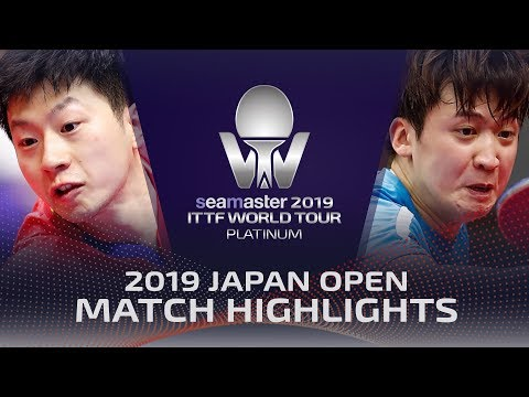 Ma Long vs Jeoung Youngsik | 2019 ITTF Japan Open Highlights (R16)