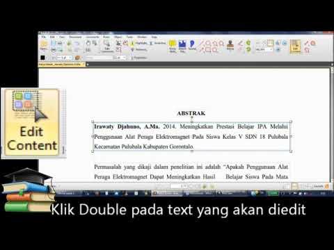 Cara Edit file PDF dengan PDF XChange Editor