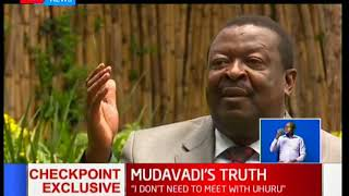 Mudavadi: I respect Raila Odinga, but sometimes we agree and disagree; we can still work together
