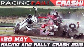 Racing and Rally Crash Compilation Week 20 May 2018   Rally de Portugal