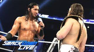 Mustafa Ali interrupts Daniel Bryan: SmackDown LIVE, Dec. 11, 2018