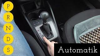 A29: Automatik erklärt - Was sind P, R, N, D, S? - Autofahren lernen