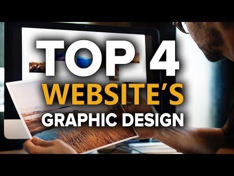 TOP 4 Best Graphic Design Websites FREE - Amazing Graphic Design