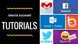 Create account sign in sign up Hotmail Outlook Gmail Facebook Badoo Twitter AOL Yahoo