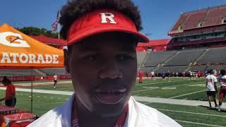 Priority DL target Jason Blissett: Rutgers