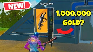 fortnite, but can only use NEW VENDING MACHINES!