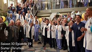 Grey's anatomy S10E19 - Sister Christian - Juliette Commagere