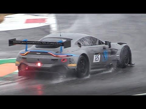 Curbstone Test Days 2019 Monza - NEW Vantage GT3, Nissan R90 CK, 488 GTE & More!