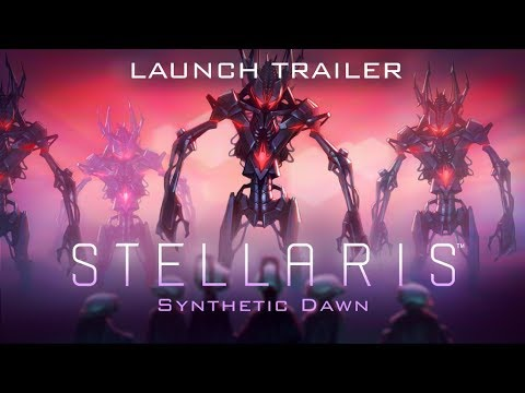 "Stellaris: Synthetic Dawn Story Pack - Launch Trailer ""Rise of the synthetics"" thumbnail"