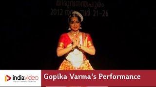 Gopika Varma's Mohiniyattam performance
