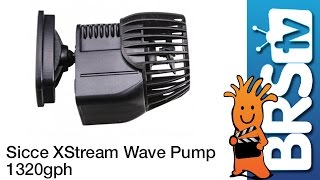 Sicce XStream Wave Pump 5000 1320GPH Flow Dynamics