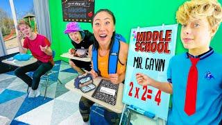 TEAM RAR goes back to MIDDLE SCHOOL!! ft. GAVIN MAGNUS