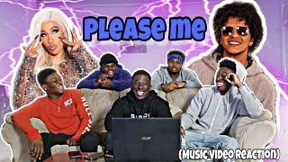 Cardi B & Bruno Mars   Please Me(Reaction)
