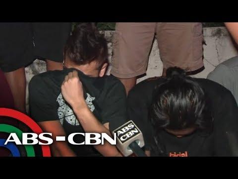 [ABS-CBN]  Magbabarkada timbog sa droga sa Cavite