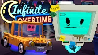 ROBOT RACERS LOSE IT - Job Simulator VR (Infinite Overtime) #15