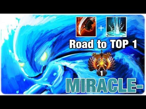 Miracle- Morphling MID Carry Imba Shotgun Damage Dota 2 7.21d