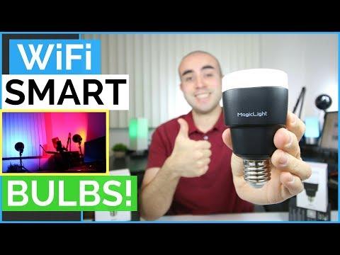 Epic Smart LED Light Bulb Review: MagicLight WiFi Smart LED Light Bulb