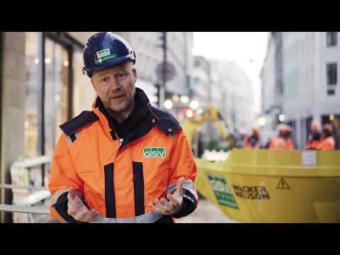 Copenhagen construction site with zero emissions
