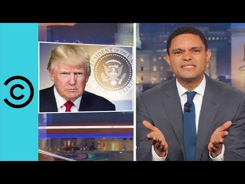 Trump Cracks Racist Pocahontas Joke While Honouring Navajo Veterans | The Daily Show