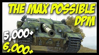 ► The Maximum Possible DPM, Part 2! - World of Tanks FV217 Badger Gameplay