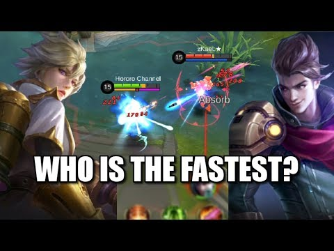 WHO HAS THE FASTEST ATTACK? CLAUDE OR KIMMY? (видео)
