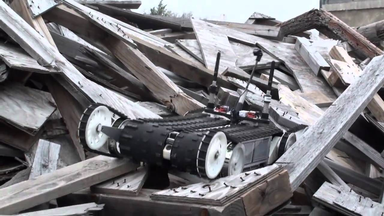 Japan's Rescue Robot Brigade Takes To Fukushima
