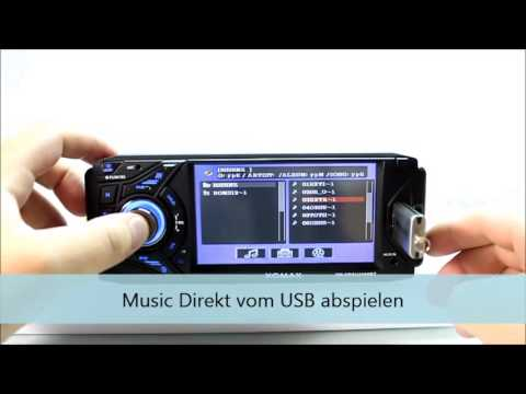 Xomax XM-VRSU4309BT carradio Autoradio USB touchscreen MP3 Radio